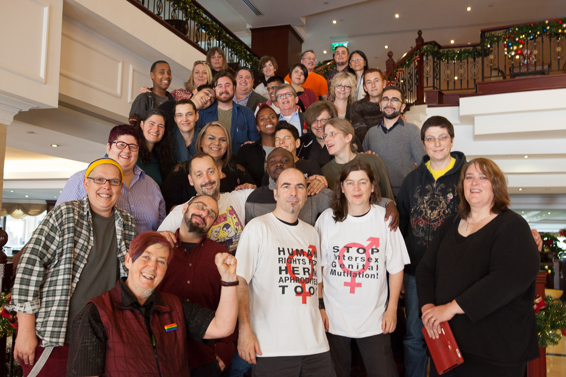 Participants at the Third International Intersex Forum, Malta
