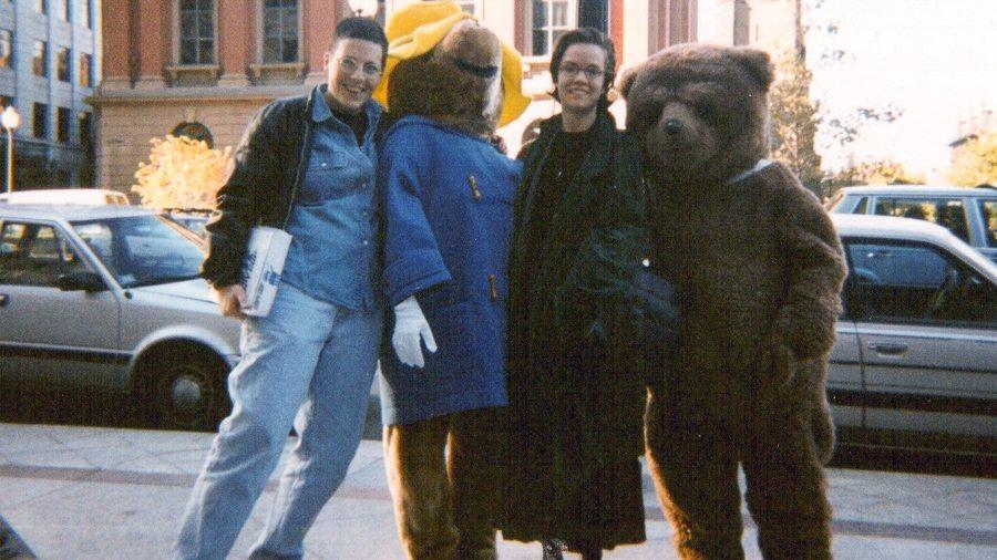 Max Beck, Morgan Holmes and Paddington Bear