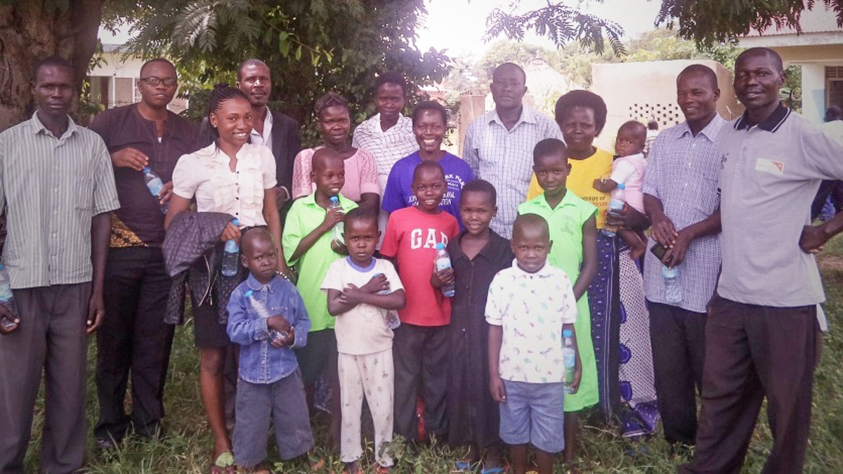 Outreach in Uganda